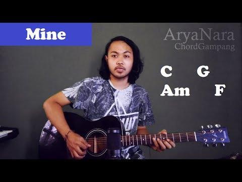 Chord Gampang (Mine - Petra Sihombing) by Arya Nara (Tutorial Gitar) Untuk Pemula