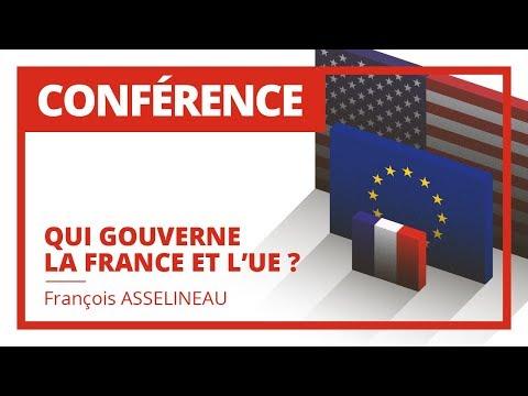 Qui gouverne la France et l'Europe 27 Avril 2012 - François ASSELINEAU - Version Intégrale -