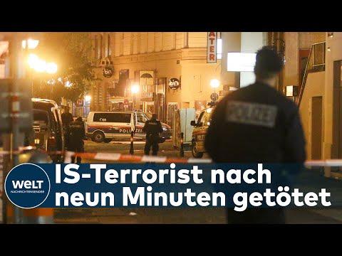 TERROR IN WIEN: Polizei-Briefing - Attentäter und drei Passanten bei Terrorattacke getötet