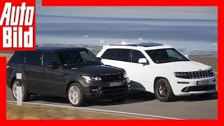 Range Rover Sport vs. Jeep Grand Cherokee SRT8