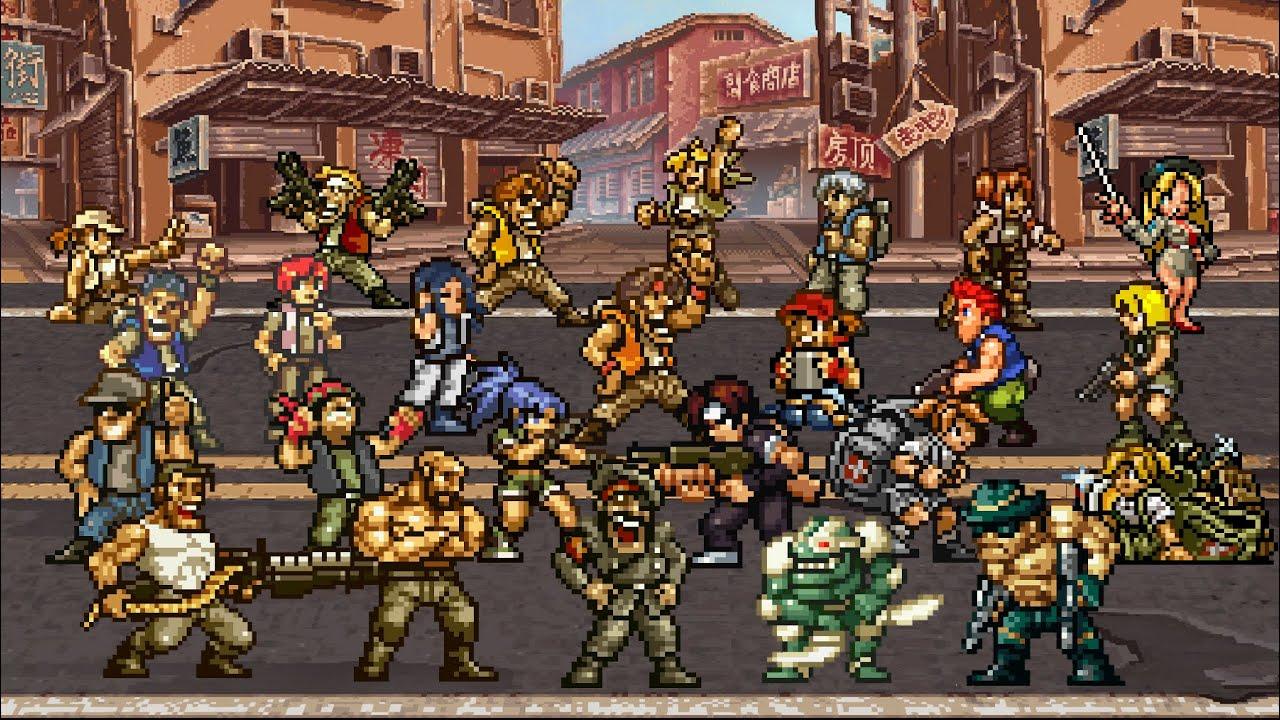 All Characters in Metal Slug History