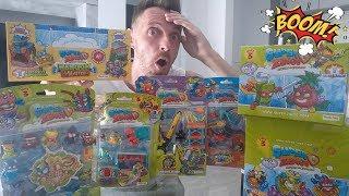 MR. KING!!! W POSZUKIWANIU NAJRZADSZEJ FIGURKI!!! SUPER ZINGS SERIA 3 MASA ZESTAWÓW!!! UNBOXING
