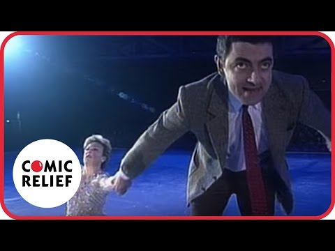 Mr Bean in 'Torvill and Bean' | Comic Relief