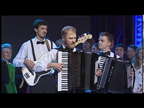 "Subtilu-Z - Holy Motors accordion scene opening 20th ""Kino pavasaris"""