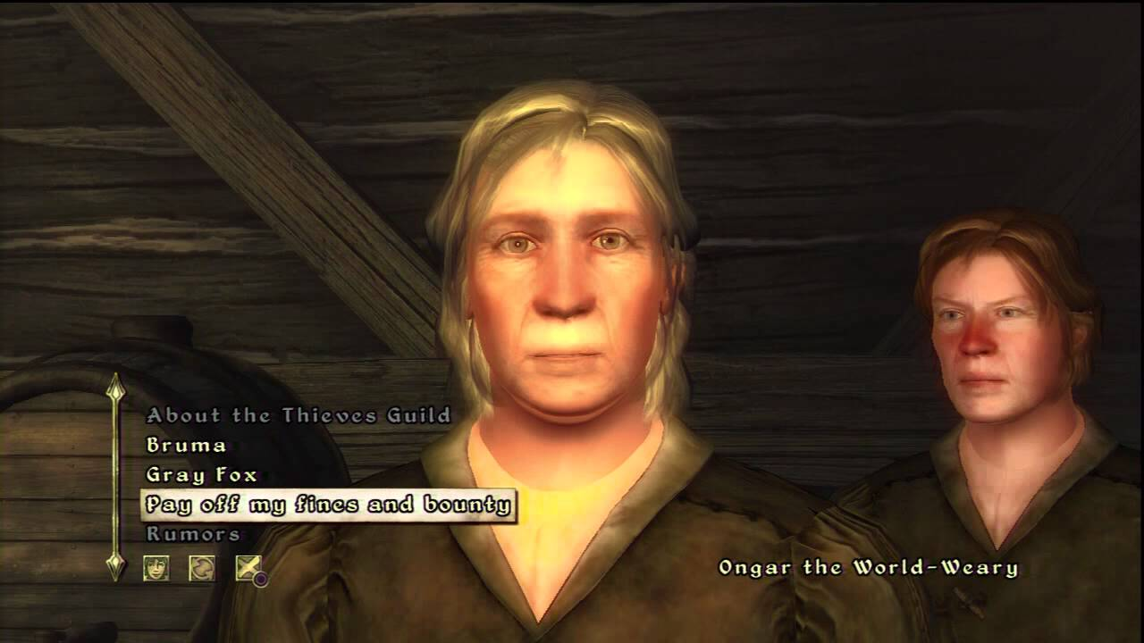 how do you sell stolen items in oblivion