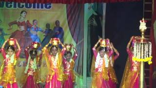 Hasini dance in RSK school Anualday 2016