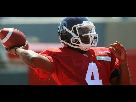 QB Blake Sims Gets First Taste of CFL