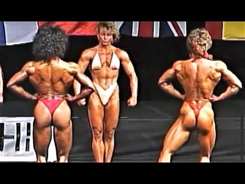 NABBA Worlds 1990  Miss Physique Comparisons