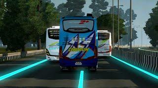 Video ETS 2 : Mudik Lebaran Bersama Bus Trans Zentrum Mk download MP3, 3GP, MP4, WEBM, AVI, FLV Agustus 2018