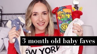 3 Month Old Baby Favourites | Amy Farquhar