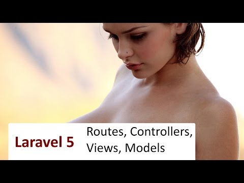 #2 Laravel 5: Маршруты, Контроллеры, Модели, Представления