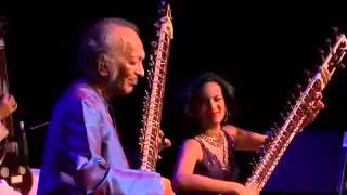 Ravi and Anoushka Shankar - live in 2007 - Santa Cruz Civic Auditorium - Raga Pancham Se Gara