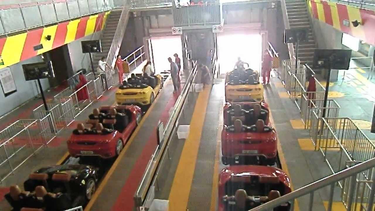 Fiorano Gt Challenge Racing Roller Coaster Pov Ferrari