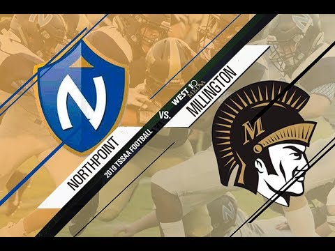 2019 Millington Trojan Football vs  Northpoint Christian School Week 4