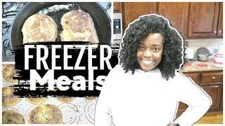 Quick and Easy Breakfast Freezer Meals