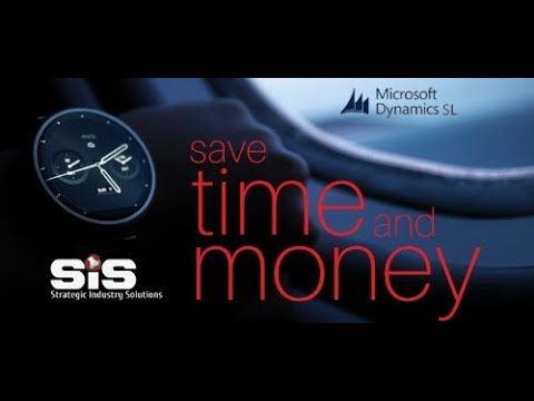 Microsoft Dynamics SL Webinar - The eBanking Suite from SK Global