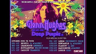 GLENN HUGHES Performs CLASSIC DEEP PURPLE LIVE October 2018 UK Tour