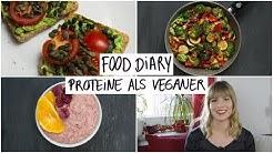 FOOD DIARY vegan   kalorienarm + proteinreich als Veganer!