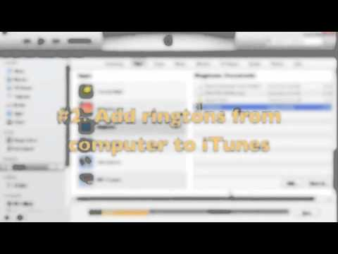 Transfer Ringtones to iPhone/iPad/iPod