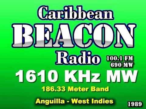 "RADIO STATION ""THE CARIBBEAN BEACON"", ON 1610 KHz  -  LISTENED IN BRAZIL, BY DXer. JOSÉ MARANHÃO"
