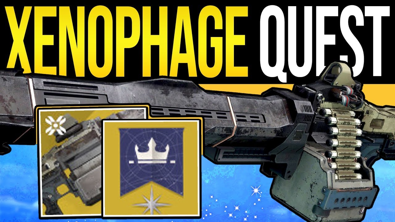 Destiny 2 | How to Get XENOPHAGE! - Full Exotic Quest Guide, Lost Sector Puzzles & Dungeon Steps