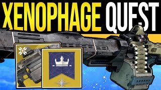 Destiny 2 | How to Get XENOPHAGE! - Full Exotic Quest Guide, Lost Sector Puzzles & Dungeon Steps!