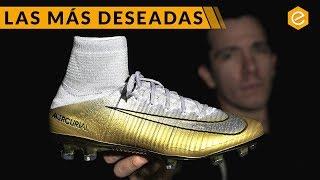 Orbita Consumir Continuo  Nike CR7 balón de oro - Botas de Cristiano Ronaldo - YouTube