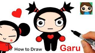 How to Draw Ninja Garu  Pucca