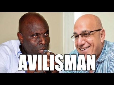 Reginal Boulos AVILI Senatè Jacques Sauveur Jean Ak Prezidan Jean Bertrand Aristide