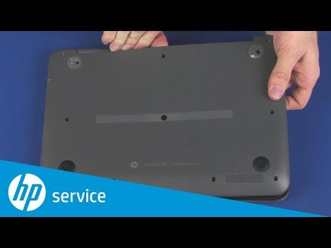 Replace the Base Enclosure | HP Pavilion x360 11-n000 | HP