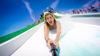 """theCHIVE takes on """"The Royal Flush"""" Waterslide"""