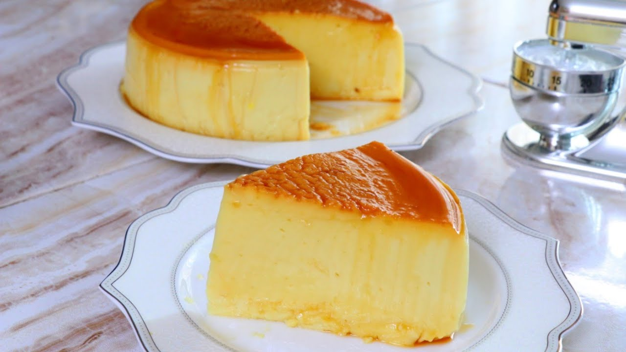 Flan De Maizena 4 Ingredientes Sin Huevo Sin Horno Youtube