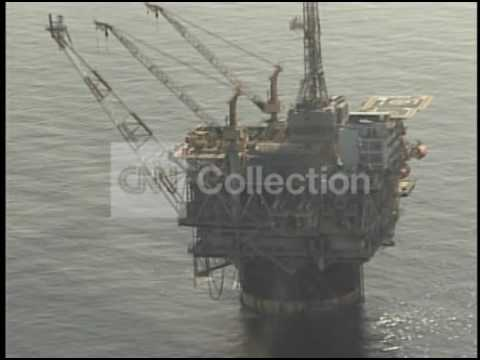 OIL RIG/ GULF OF MEXICO