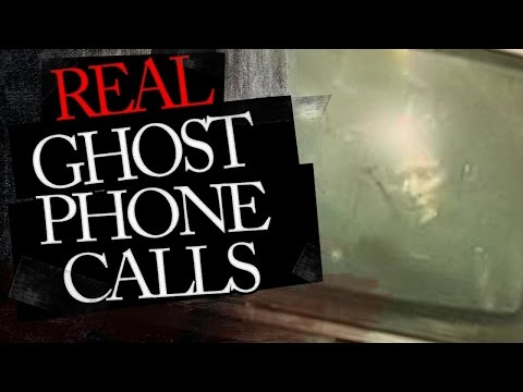CLEAR GHOST EVP (Ghost Phone call from home alone female)