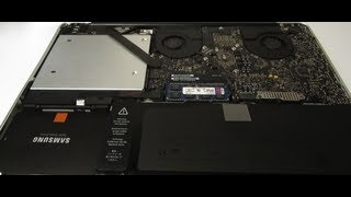 Macbook Pro Optical Drive Removal / Upgrade to dual SSD + HDD Hard Drive