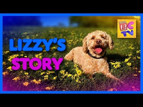 Lizzy's Story | Kids Video of Cute Puppy and Funny Dog Playing