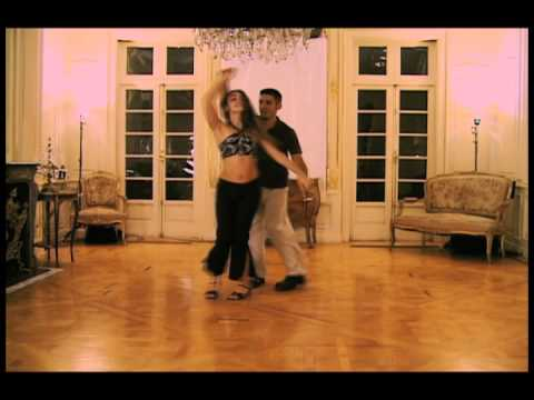 Awesome Salsa Dancing Routine for Intermediate Dancers