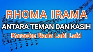 rhoma irama - antara teman dan kasih - karaoke dangdut original