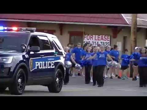 Washington Blue Lion Homecoming Parade - 9/21/2016