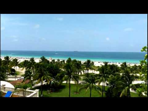 South Beach, Miami Florida.Vocation Tropical Paradise