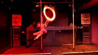 Frederika Outlaws Pole Dance Amateur Competition in Sydney