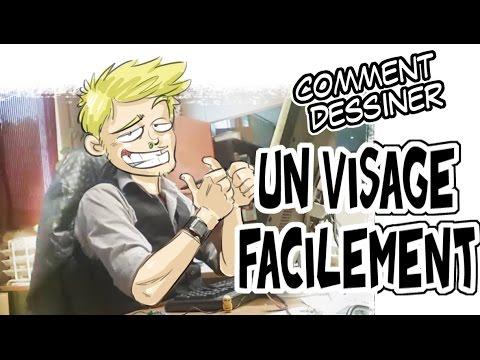 Colorisation visage aquarelle manga 1 dessiner un visage - Dessiner un manga facilement ...