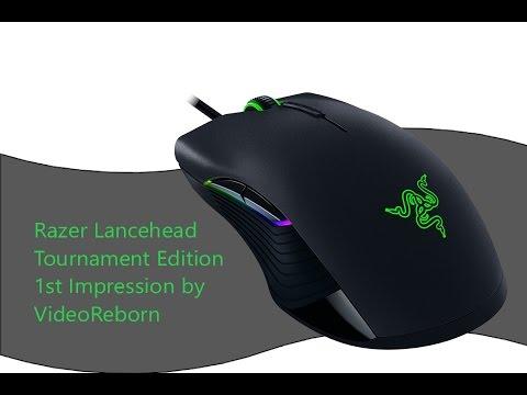 First Impression Razer Lancehead Tournament Edition Gaming Mouse