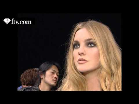 First Face Talks F/W 07-08 Caroline Trentini