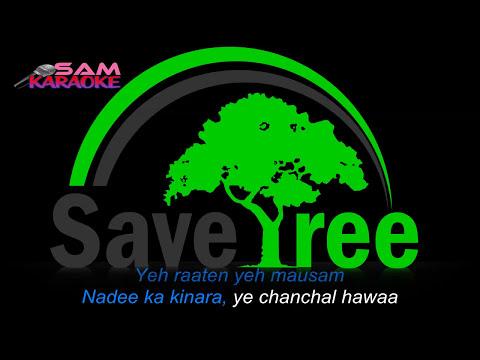 Yeh Raaten Yeh Mousam Karaoke  Unplugged Sanam Puri Karaoke Sam Karaoke