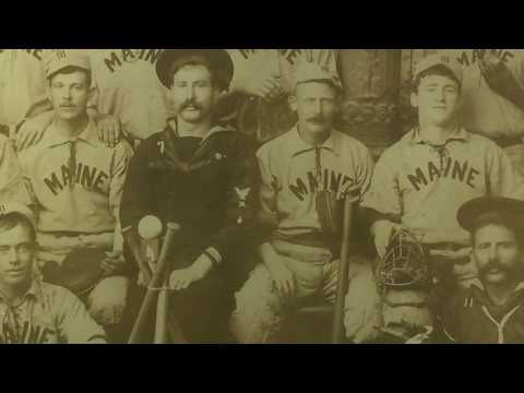 Antique Vintage Baseball Photo from the USS Maine - Item of the Day
