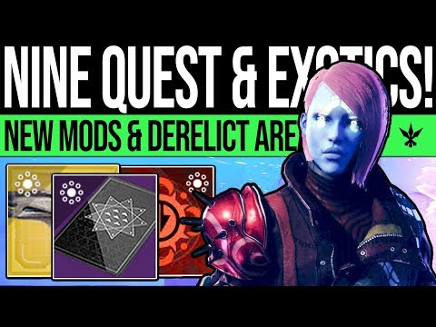 Destiny 2 | NEW SPRING EXOTICS & NINE QUESTS! Power Warning, New Mods, Exotic Changes & Xur Bounties thumbnail