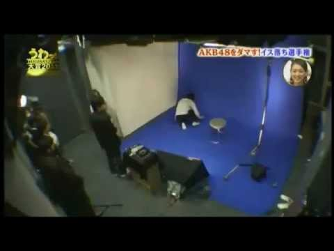 AKB48パンツ丸見え