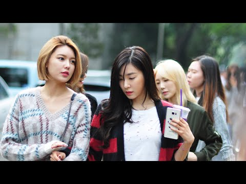 150911 SNSD arriving at Music Bank @Kpopmap