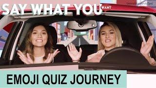 SAY WHAT YOU WANT #05 – Unsere EMOJI QUIZ JOURNEY [Unterstützt durch Opel] ✫ANKAT✫